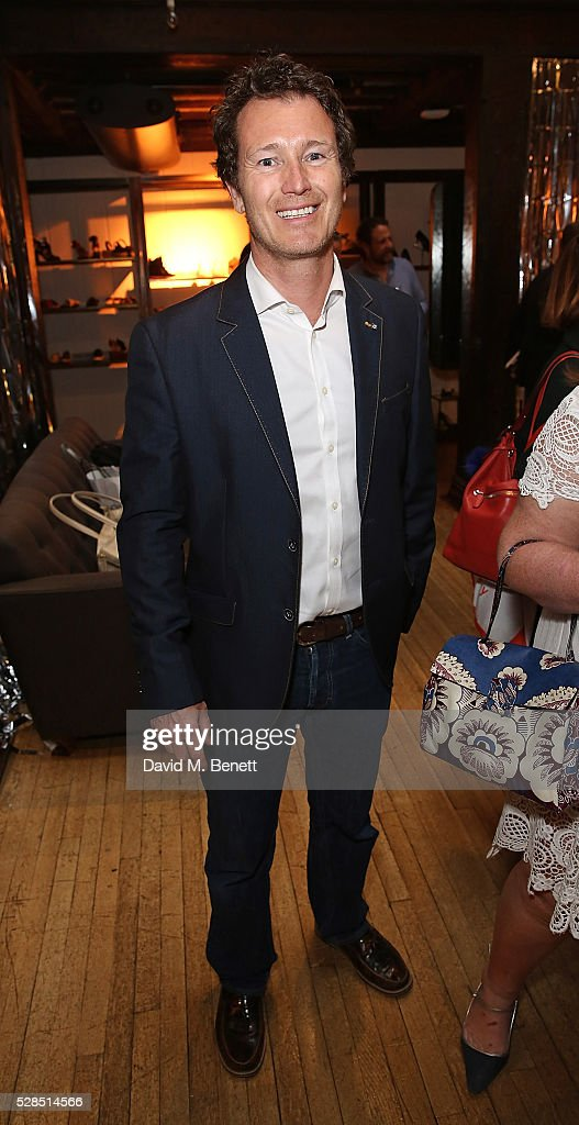 Nick Moran attends the Brix Smith Start Autobiography Launch at Liberty London on May 5, 2016 in London, England.