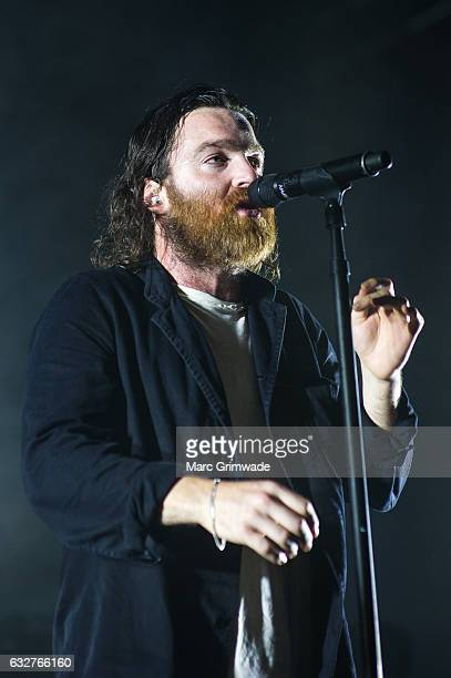 Nick Murphy performs at St Jerome's Laneway Festival on January 26 2017 in Brisbane