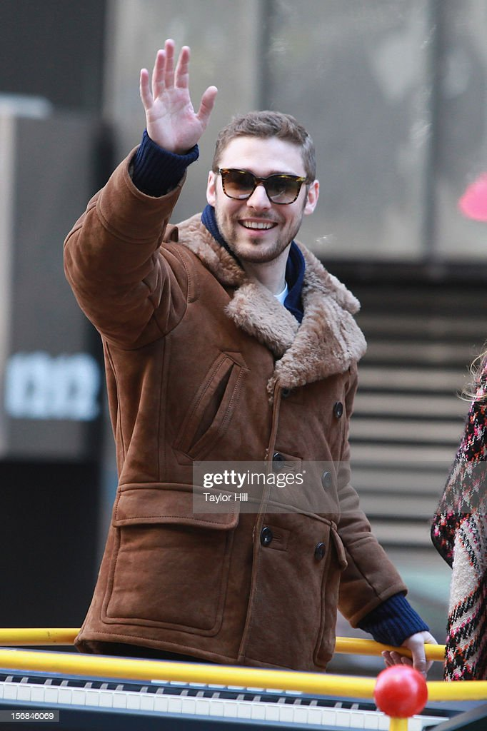 Nick Noonan of Karmin attends the 86th Annual Macy's Thanksgiving Day Parade on November 22, 2012 in New York City.