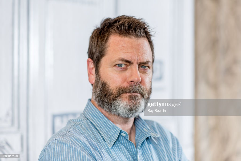 Nick Offerman discusses 'Look & See' with the Build Series at Build Studio on June 28, 2017 in New York City.