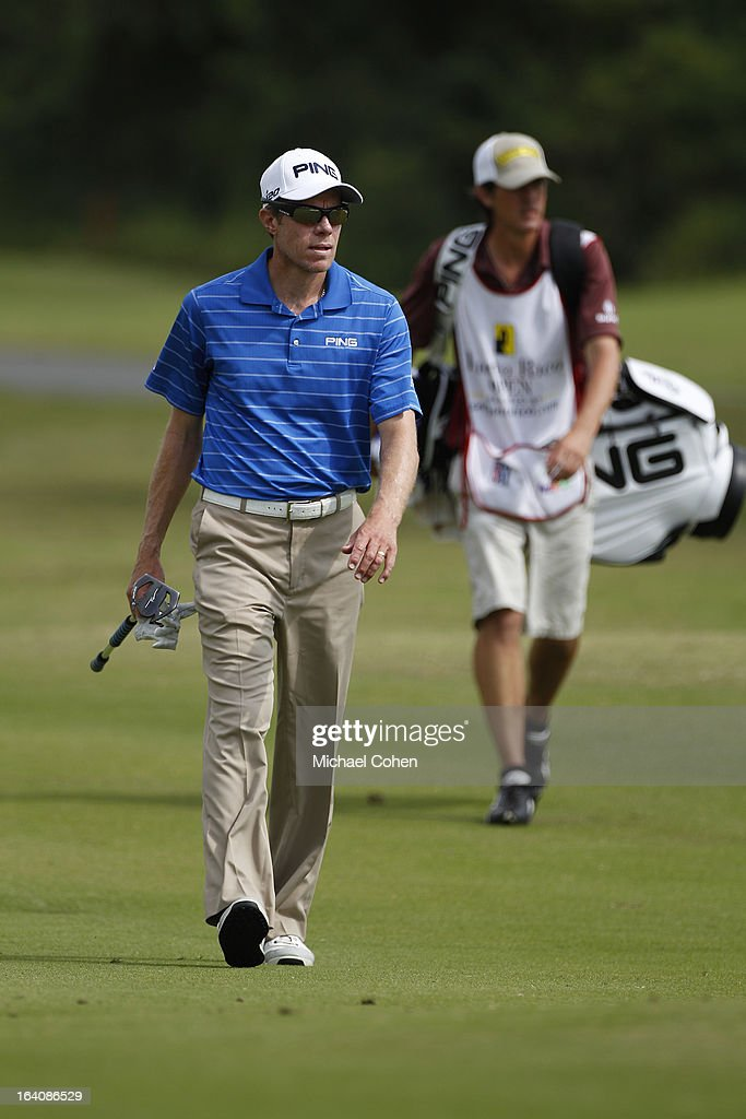 Nick O'Hern of Australia walks to the green during the third round of the Puerto Rico Open presented by seepuertoricocom held at Trump International...