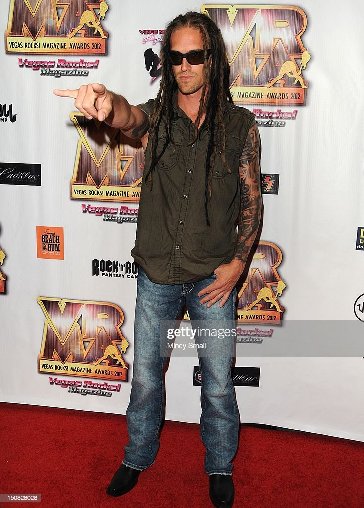 Nick Oshiro walks the red carpet at the Vegas Rocks! Magazine Awards on August 26, 2012 in Las Vegas, Nevada.