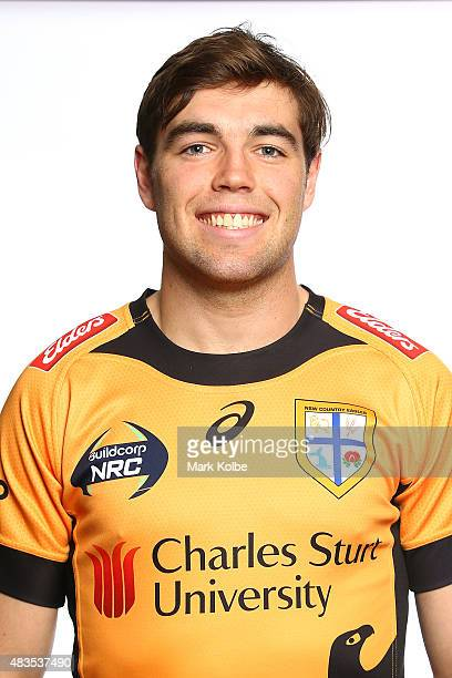 Nick Palmer poses during the NSW Country Eagles Headshots Session at the NSW Rugby Union Offices on August 10 2015 in Sydney Australia