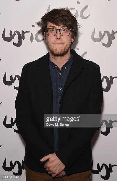 Nick Payne attends the press night performance of 'Shopping And Fucking' at The Lyric Hammersmith on October 12 2016 in London England
