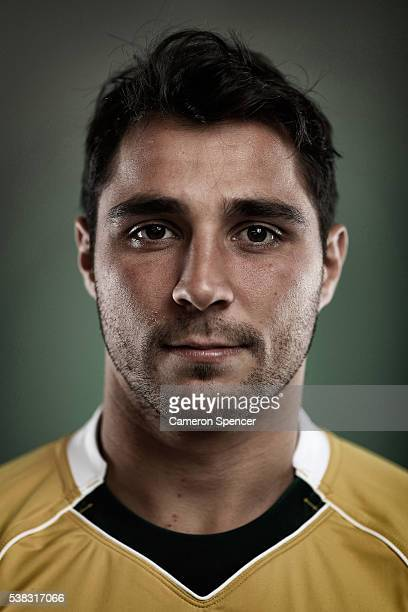 Nick Phipps of the Wallabies poses during an Australian Wallabies portrait session on May 30 2016 in Sunshine Coast Australia