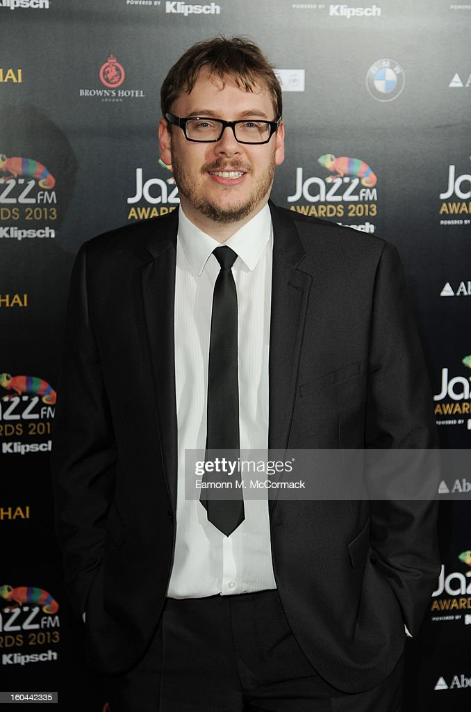 Nick Pitts attends the Jazz FM Awards at One Marylebone on January 31, 2013 in London, England.