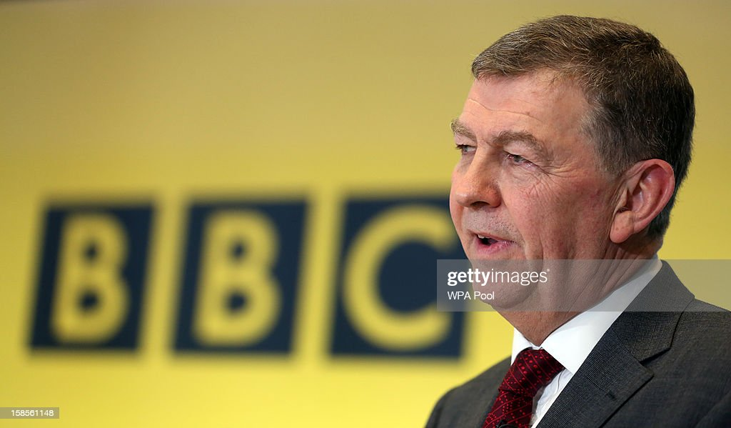 Nick Pollard, author of the Pollard Report, speaks during a press conference at BBC Broadcasting House on December 19, 2012 in London, England. The BBC Trust has announced the findings of the Pollard Report into the corporation's handling of sexual abuse allegations against former employee Jimmy Savile. Among the findings were that former Director-General George Entwistle failed to heed warnings relayed to him via email of Savile's 'dark side'.