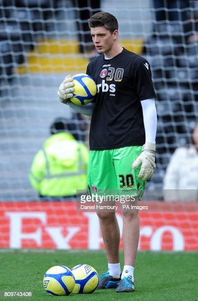 Nick Pope Charlton Athletic goalkeeper