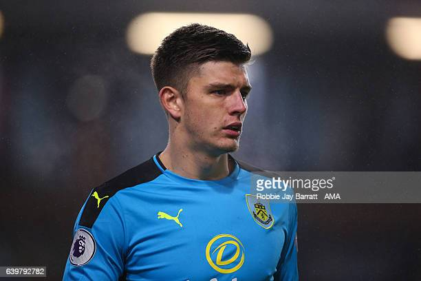 Nick Pope of Burnley during The Emirates FA Cup Third Round Replay between Burnley and Sunderland at Turf Moor on January 17 2017 in Burnley England