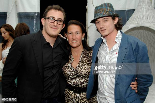Nick Raynes Christina Schott and Bobby Kennedy III attend AMANDA HEARST and LUIGI TADINI Host an Evening to Benefit RIVERKEEPER at Empire Hotel on...