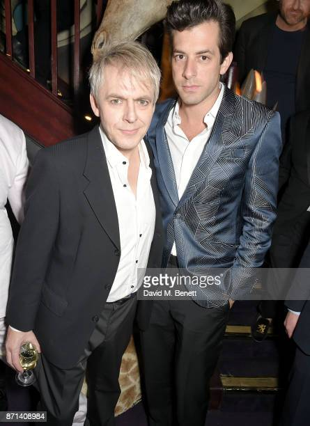 Nick Rhodes and Mark Ronson attend the Richard James 25th Anniversary event hosted by Richard James Charles S Cohen and Sean Dixon at Loulou's on...