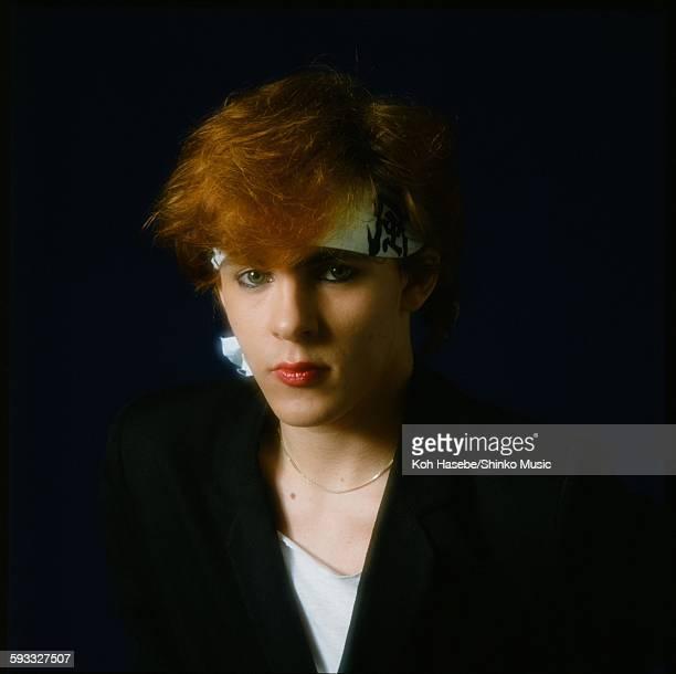 Nick Rhodes at Studio shooting Tokyo May 2 1982