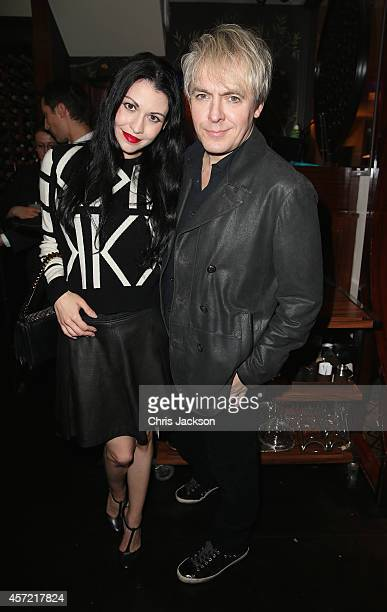 Nick Rhodes attends a dinner at China Tang after Moncler hosted the 'Monuments' Exhibition with Leica on October 14 2014 in London England