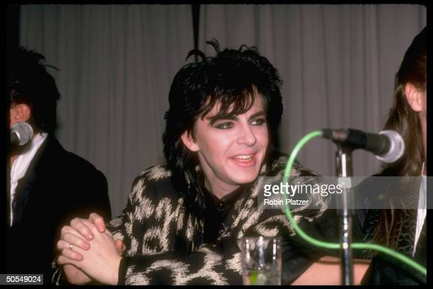 Nick Rhodes of the rock group Duran Duran