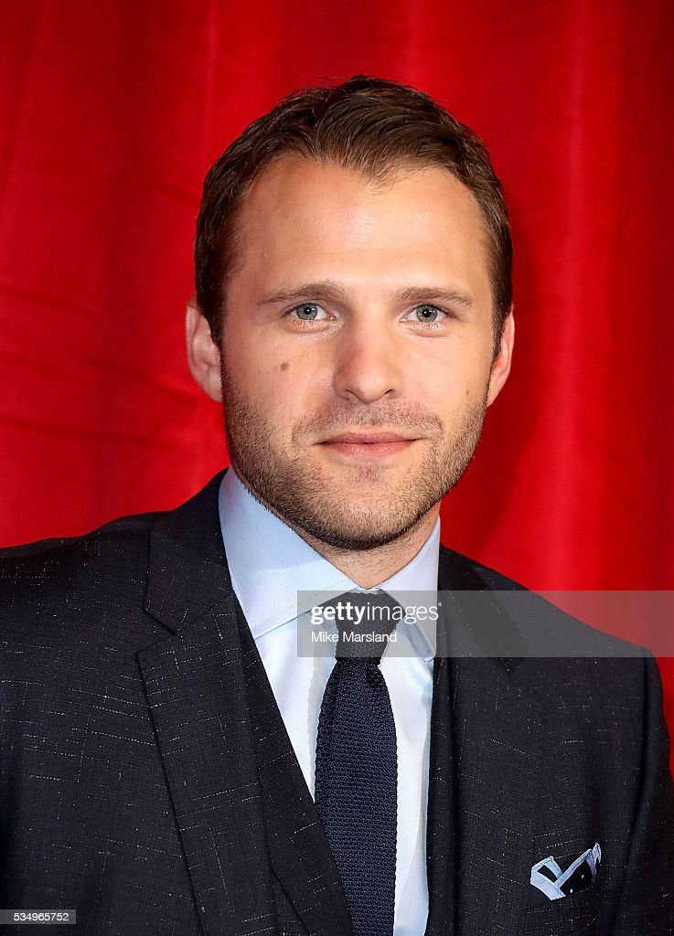 Nick Rhys attends the British Soap Awards 2016 at Hackney Empire on May 28, 2016 in London, England.