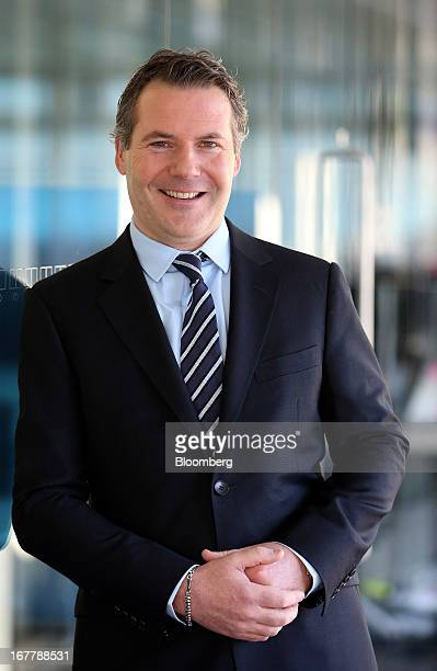 Nick Robertson chief executive officer of Asos Plc poses for a photograph following a Bloomberg Television interview in London UK on Tuesday April 30...