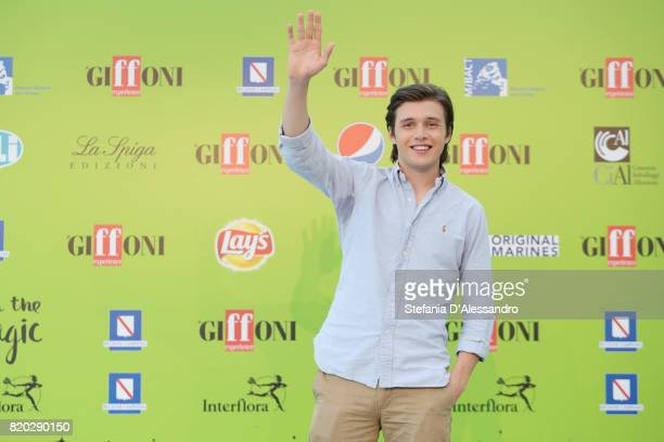 Nick Robinson attends Giffoni Film Festival 2017 photocall on July 21 2017 in Giffoni Valle Piana Italy
