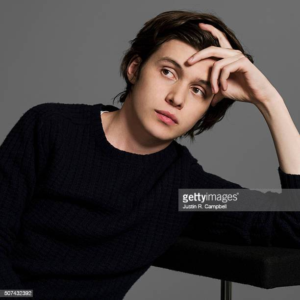 Nick Robinson of 'The 5th Wave' is photographed for Just Jared on January 21 2016 in Los Angeles California