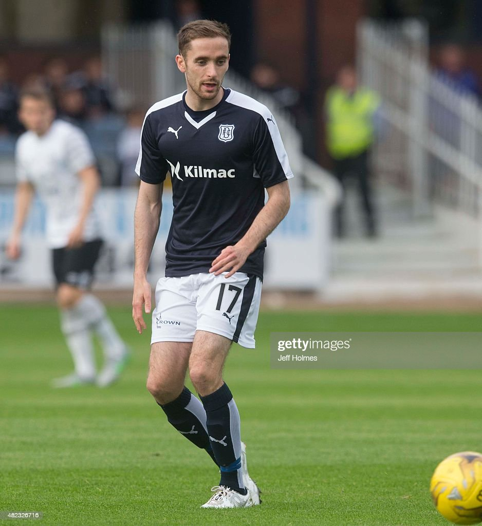 Nick Ross for Dundee at the Pre Season Friendly between Dundee and Everton at Dens Park on July 28th 2015 in Dundee Scotland