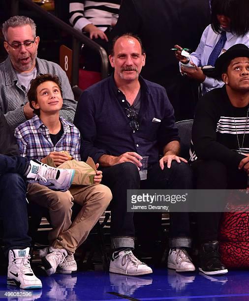 Nick Sandow attends New York Knicks vs Milwaukee Bucks game at Madison Square Garden on November 6 2015 in New York City