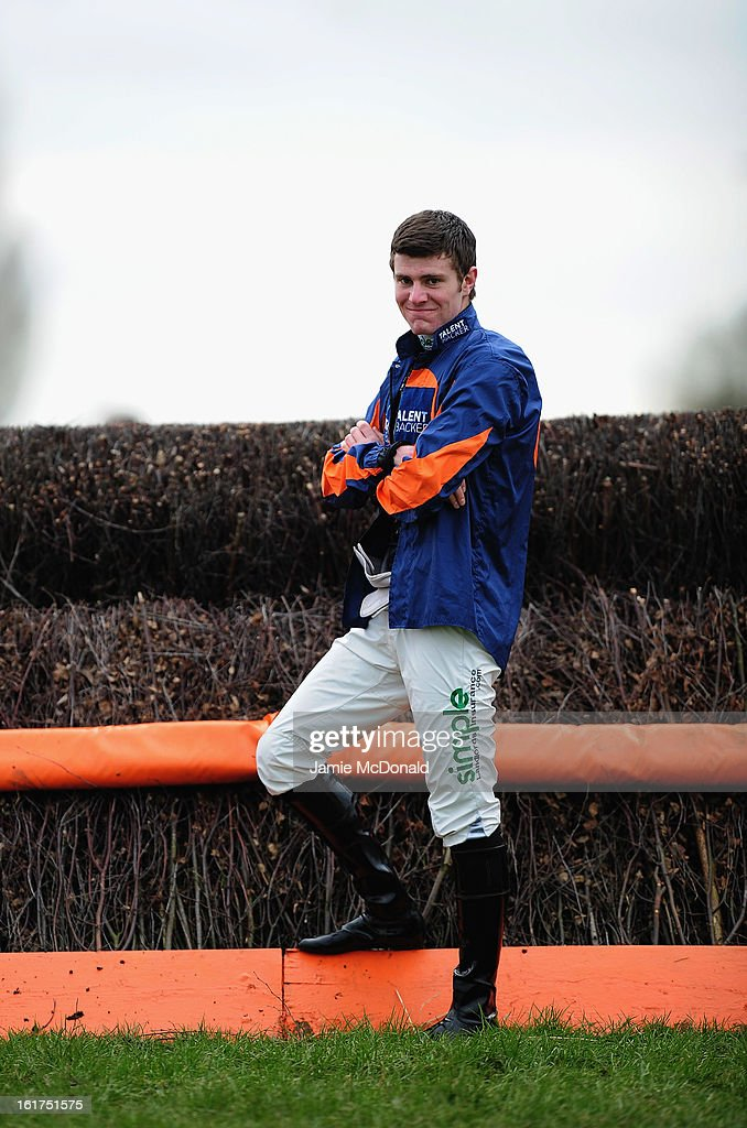 Nick Scholfield poses for a photograph on February 15, 2013 in Fakenham, England.