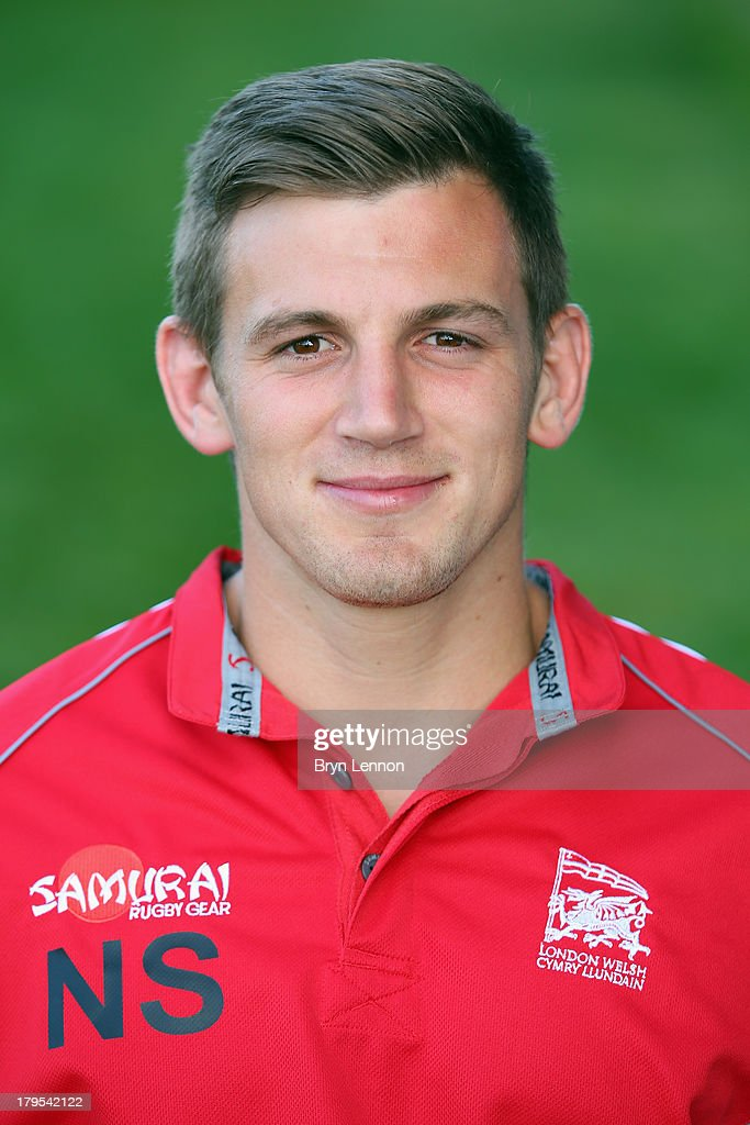Nick Scott of London Welsh poses for a portrait during a London Welsh Media Day at Kassam Stadium on September 4, 2013 in Oxford, England.
