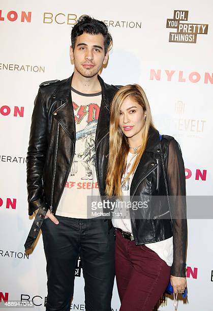 Nick Simmons arrives at the Nylon Magazine May Young Hollywood Issue Party held at Tropicana Bar at The Hollywood Rooselvelt Hotel on May 8 2014 in...