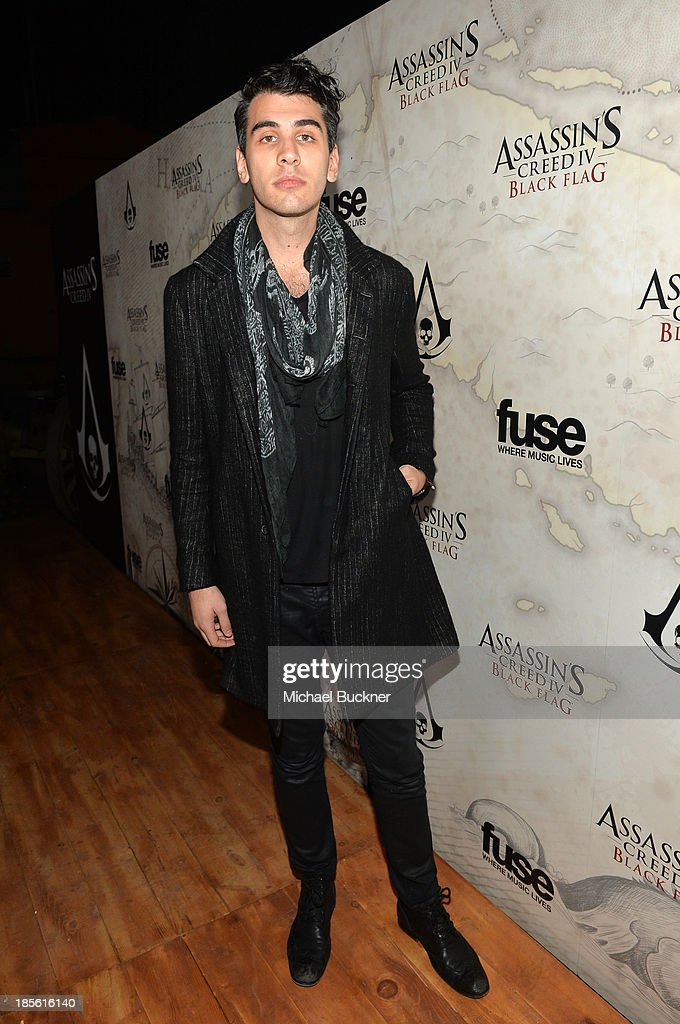 Nick Simmons attends the Assasin's Creed IV Black Flag Launch Party at Greystone Manor Supperclub on October 22, 2013 in West Hollywood, California.