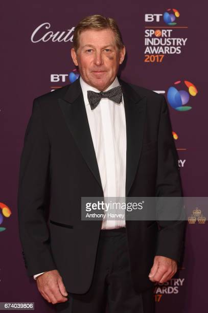 Nick Skelton poses on the red carpet during the BT Sport Industry Awards 2017 at Battersea Evolution on April 27 2017 in London England The BT Sport...