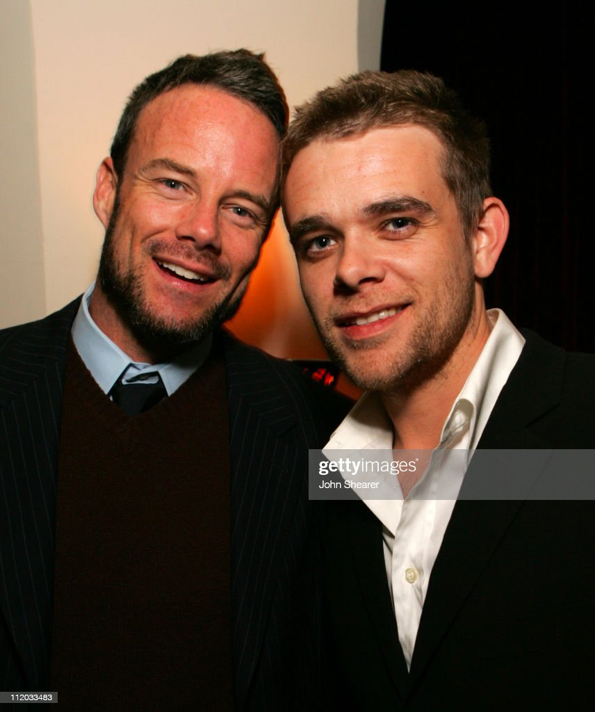 Nick Stahl (right) and guest during Lionsgate 2006 Oscar Party at Chateau Marmont in West Hollywood, California, United States.