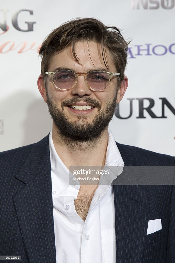 Nick Thune attends the 'Burning Love' season 2 premiere at Paramount Theater on the Paramount Studios lot on February 5, 2013 in Hollywood, California.