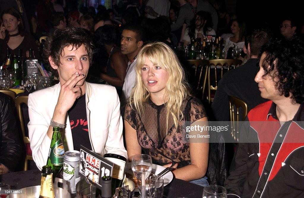 Nick Valensi (the Strokes) & Amanda De Cadenet, Nme Carling Awards 2002, In Shoreditch, London