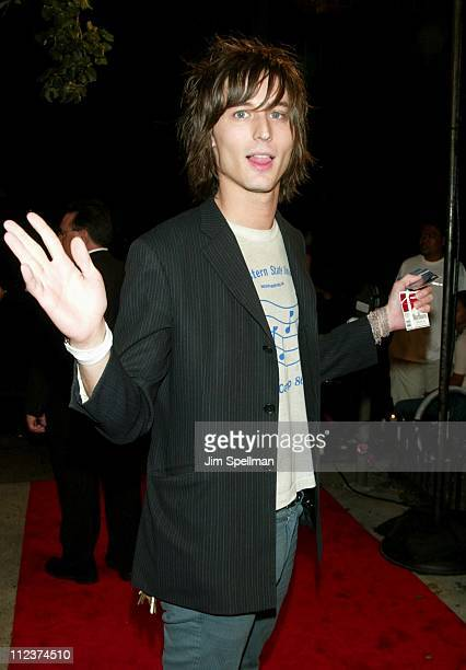 Nick Valensi of The Strokes during New York Premiere of 'Igby Goes Down' at Chelsea West Theatres in New York City New York United States