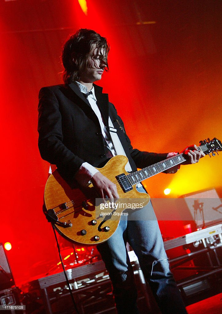 The Strokes perform in Kansas City on April 28, 2004