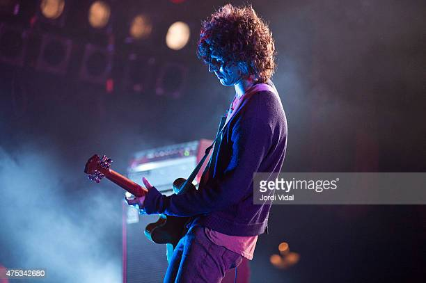 Nick Valensi of The Strokes performs on stage during the fourth day of Primavera Sound Festival on May 30 2015 in Barcelona Spain