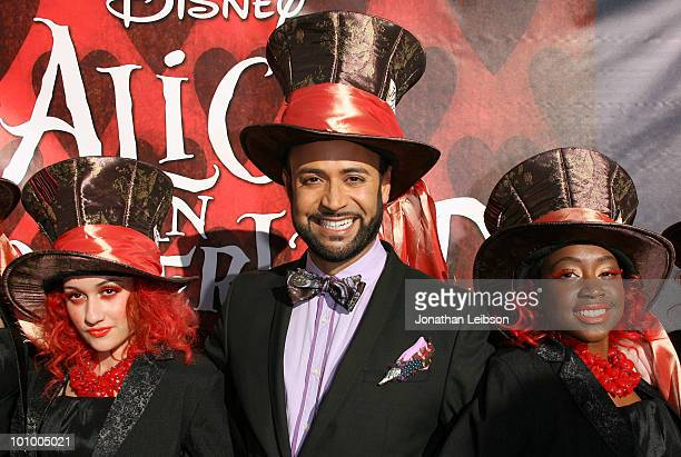 Nick Verreos arrives for Disney's 'Alice In Wonderland' Costume Exhibition Opening Night Gala at FIDM Museum Galleries on the Park on May 26 2010 in...