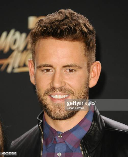 Nick Viall poses in the press room at the 2017 MTV Movie and TV Awards at The Shrine Auditorium on May 7 2017 in Los Angeles California