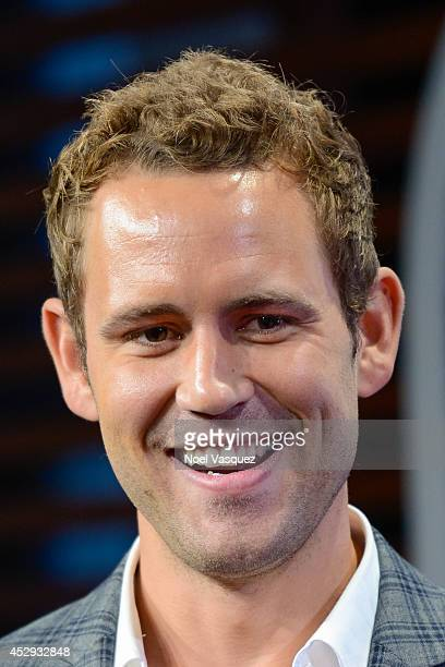Nick Viall visits 'Extra' at Universal Studios Hollywood on July 30 2014 in Universal City California