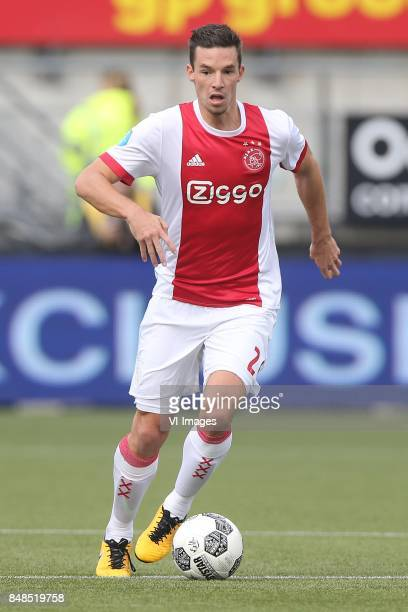 Nick Viergever of Ajax during the Dutch Eredivisie match between ADO Den Haag and Ajax Amsterdam at Car Jeans stadium on September 17 2017 in The...