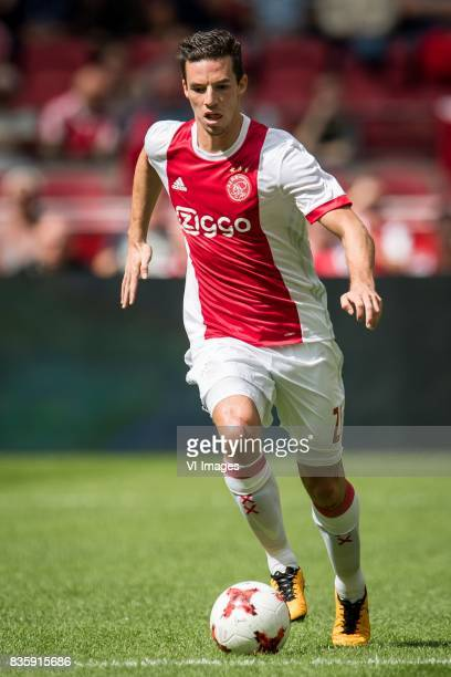 Nick Viergever of Ajax during the Dutch Eredivisie match between Ajax Amsterdam and FC Groningen at the Amsterdam Arena on August 20 2017 in...
