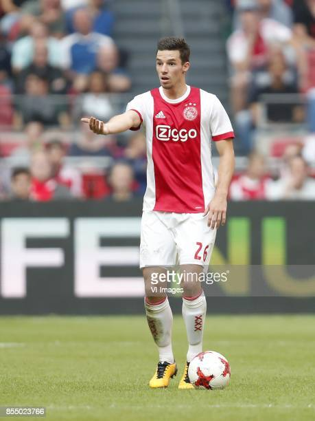 Nick Viergever of Ajax during the Dutch Eredivisie match between Ajax Amsterdam and Vitesse Arnhem at the Amsterdam Arena on September 24 2017 in...