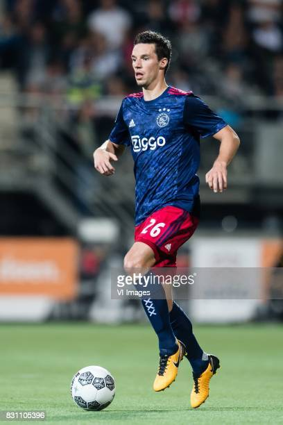 Nick Viergever of Ajax during the Dutch Eredivisie match between Heracles Almelo and Ajax Amsterdam at Polman stadium on August 12 2017 in Almelo The...
