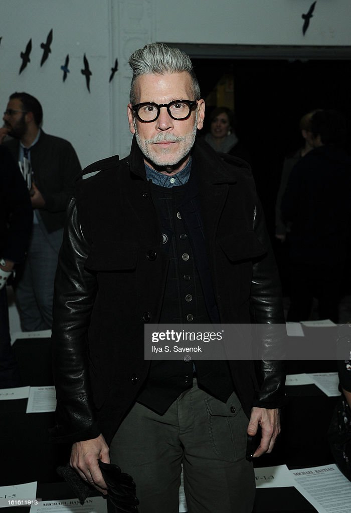 Nick Wooster attends the Michael Bastian fall 2013 fashion show during Mercedes-Benz Fashion Week on February 12, 2013 in New York City.