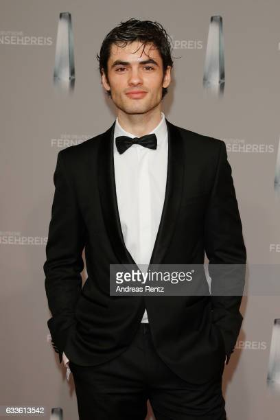 Nick Xhelilaj arrives for the German Television Award at Rheinterrasse on February 2 2017 in Duesseldorf Germany