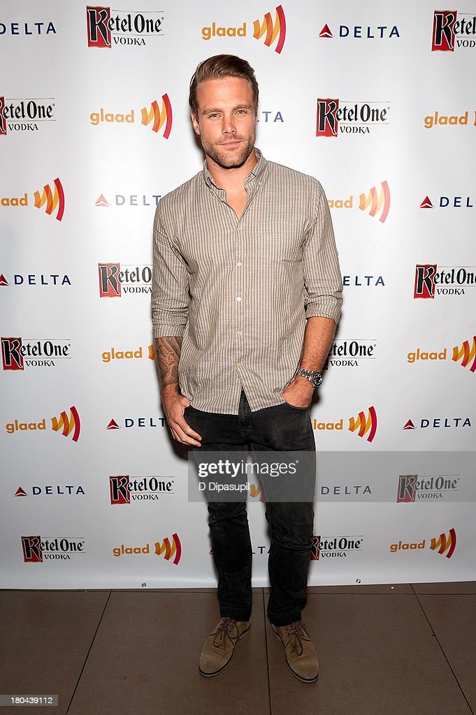 Nick Youngquest attends the GLAAD Manhattan Summer 2013 Benefit at Gansevoort Park Avenue on September 12, 2013 in New York City.