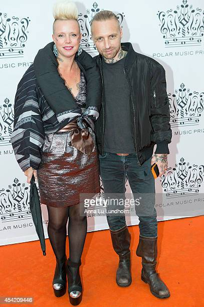 Nicke Borg attend Polar Music Prize at Stockholm Concert Hall on August 26 2014 in Stockholm Sweden