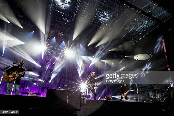 Nickelback performs at the 'Top Of The Mountain Concert' at Idalp on November 30 2013 in Ischgl Austria
