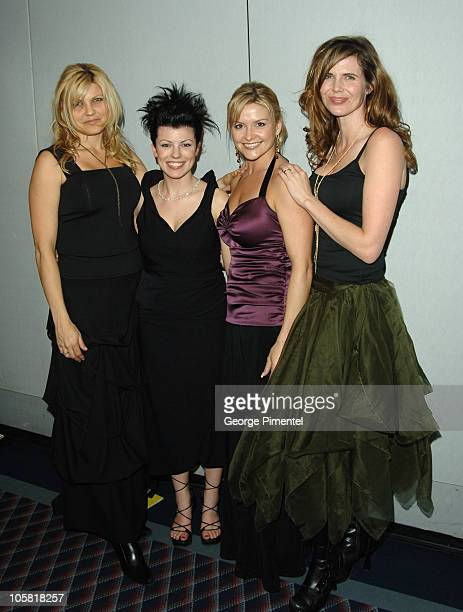 Nickelback Spouses during 2006 JUNO Awards Juno Gala Dinner and Awards at World Trade Convention Center in Halifax Nova Scotia Canada