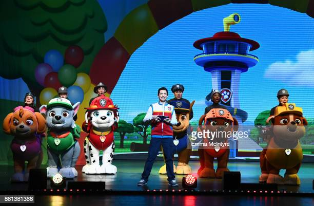 Nickelodeon And VStar Entertainment Group's PAW Patrol Live 'Race to the Rescue' at Dolby Theatre on October 14 2017 in Hollywood California