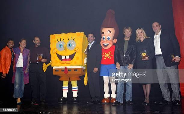 Nickelodeon EVP Public Affairs Marva Smalls Nickelodeon TV President Cyma Zarghami Fisher Price President Neil Friedman SpongeBob Squarepants CAAF...